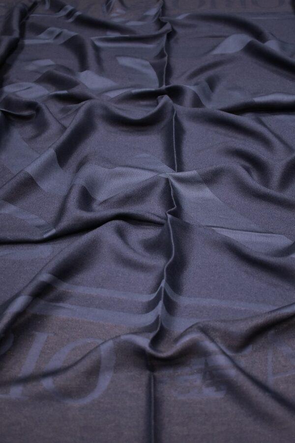 Платок палантин сине-фиолетовый люрекс