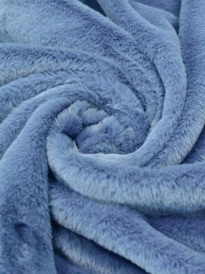 Искусственный мех кролик дымчато-голубой