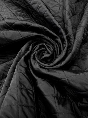 Шерстяной твид стежка двухсторонний черный хаки