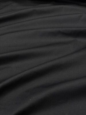 Плащевый хлопок парочный с пропиткой черный