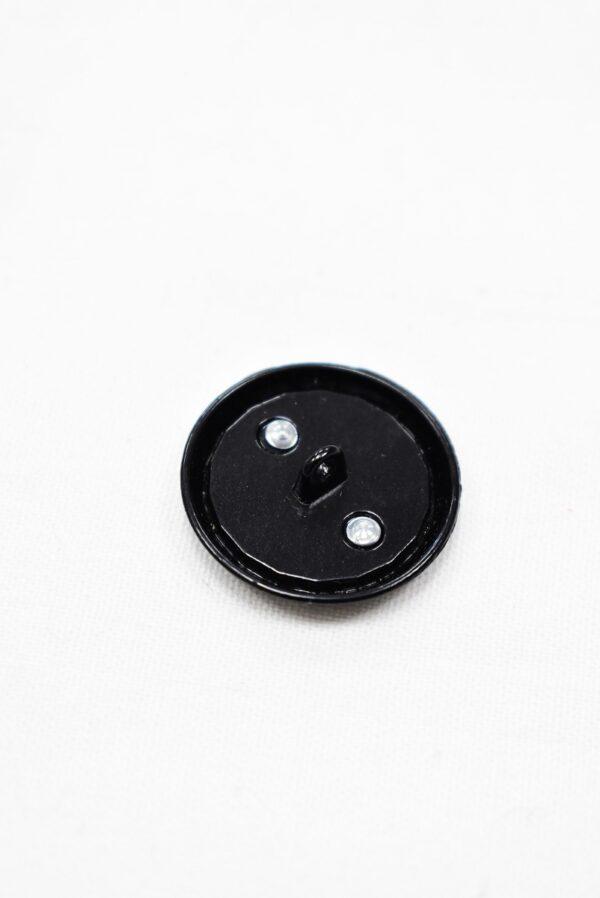 Пуговица металл черная (p0961) 2